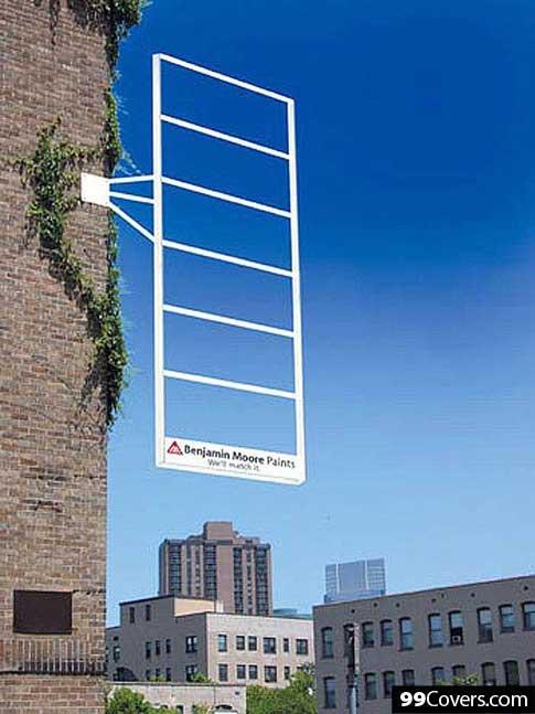 Benjamin Moore Paint Advertisement