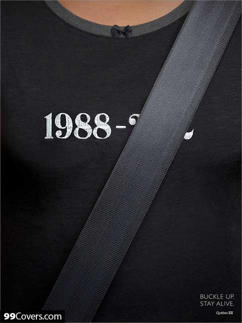 Buckle Up Advertisement