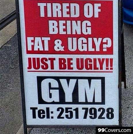 Funny Gym Ad