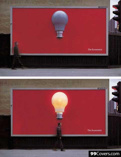 The Economist Lightbulb Ad