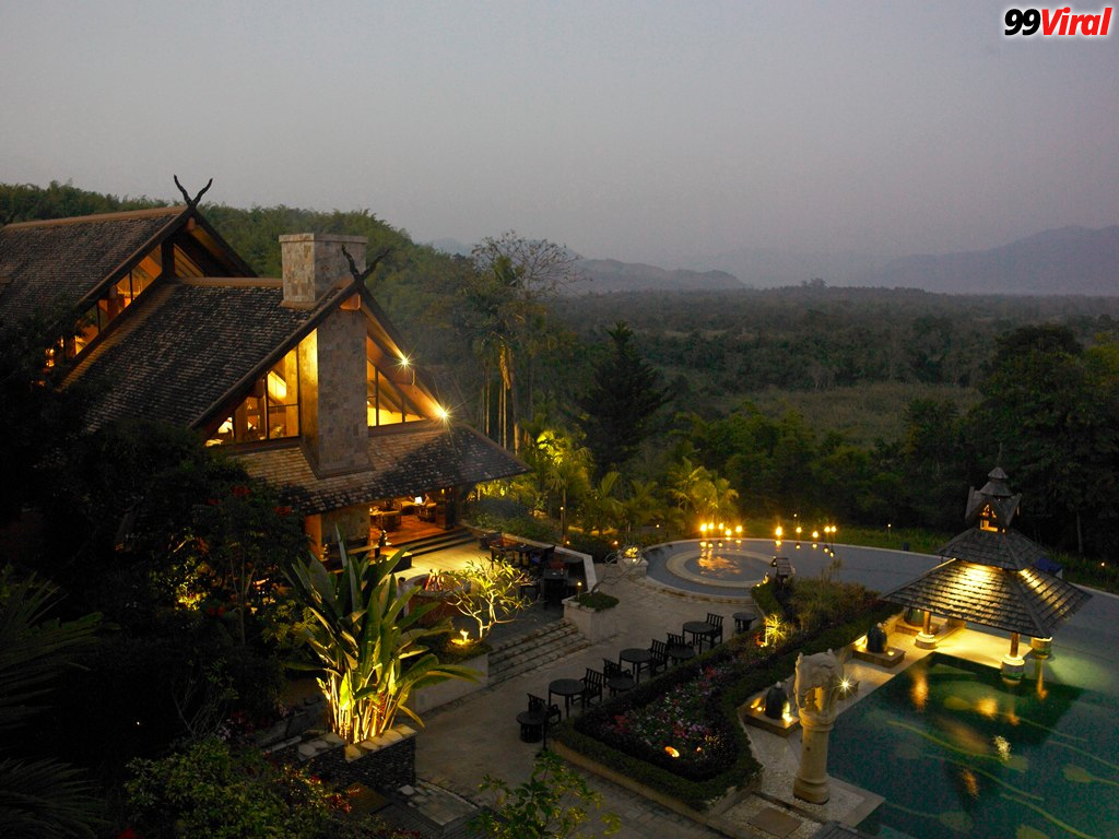 1. Anantara Golden Triangle Elephant Camp & Resort, Thailand