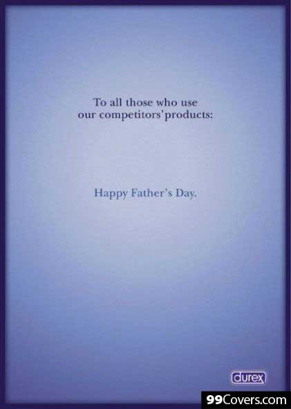 Durex Happy Father's Day Advertisement