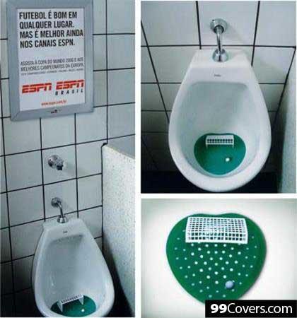 ESPN Urinal