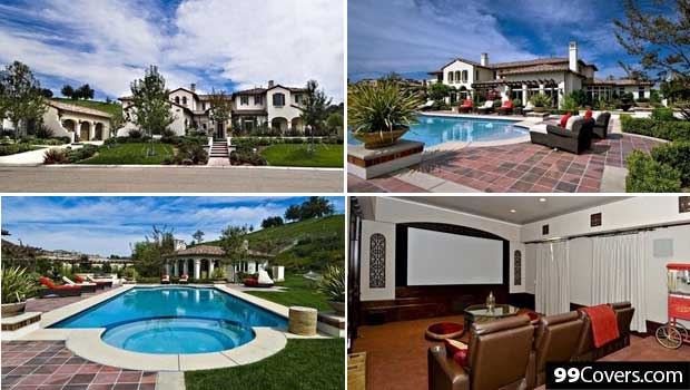 Justin Bieber's Mansion in Calabasas, California