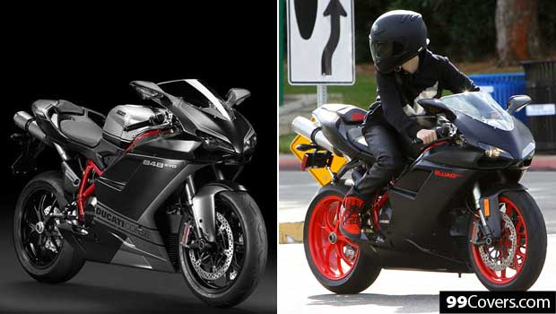 justin bieber's ducati motorcycle