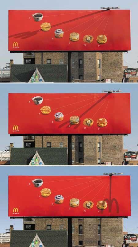 McDonald's Clock Ad