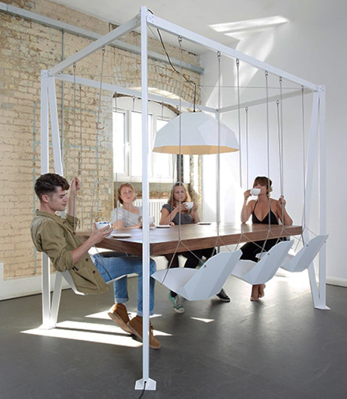6-swing table
