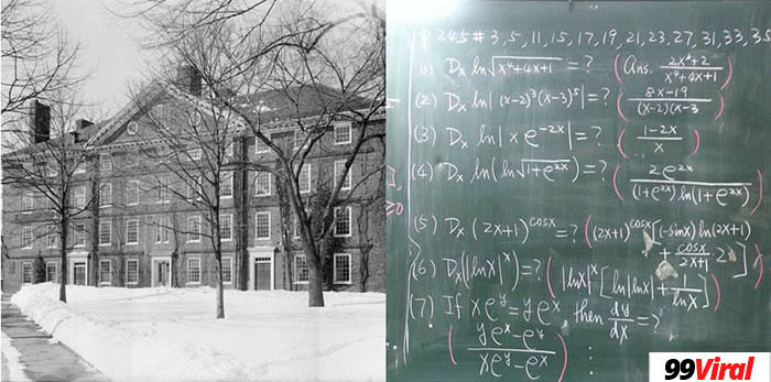 7. Harvard University was founded before there was even calculus.